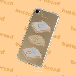 뮤즈무드 butter bread (clear) 아이폰케이스