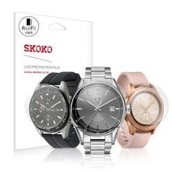 스코코 풀커버 리얼핏 시계 액정보호필름 3매 21-45mm