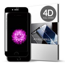 스킨즈 아이폰6S플러스 4D풀커버 강화유리 필름 (1장)