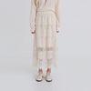 kangkang lace banding skirt (2colors)