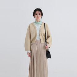 maden crop cardigan (2colors)