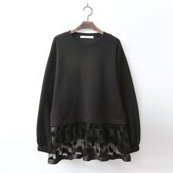 Black Dot Sweatshirt