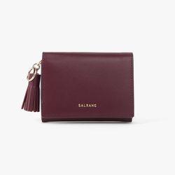 REIMS W015 Card Poket Wallet Burgundy
