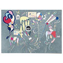 중형 패브릭 포스터 추상화 모던 그림 명화 액자 칸딘스키 5