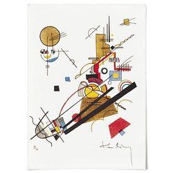 중형 패브릭 포스터 추상화 그림 인테리어 액자 칸딘스키 16