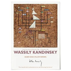 중형 패브릭 포스터 추상화 명화 빈티지 그림 액자 칸딘스키 19
