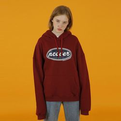 [예약판매 01/28 발송] Ncover hoodie-wine(노기모)