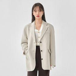 two pocket handmade coat (wool90)