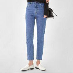 clean high waist denim pants (s m)