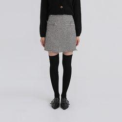 louise tweed mini skirt (2colors)