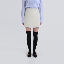 jenny tweed mini skirt (2colors)