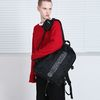 STRING SQUARE BACKPACK (BLACK)SCOTCH LIGHT