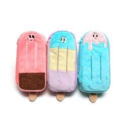 7500 아이스크림 봉제필통
