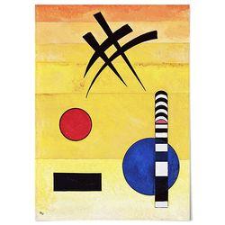 중형 패브릭 포스터 추상 미술 아트 그림 천 액자 칸딘스키 24