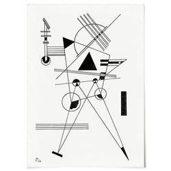 중형 패브릭 포스터 추상화 명화 그림 드로잉 액자 칸딘스키 28