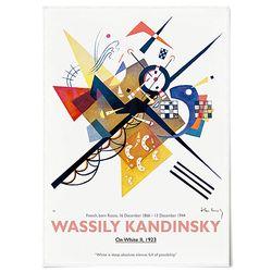 중형 패브릭 포스터 추상화 모던 인테리어 액자 칸딘스키 30