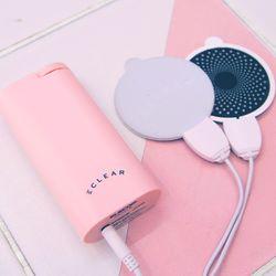 온열 저주파마사지기 에클리어 리프리 핑크
