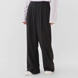 pin basic wide slacks (s m)