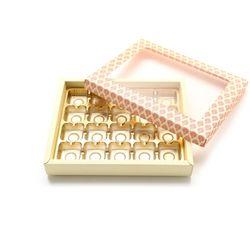 초콜릿박스 20구 핑크 사각