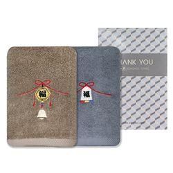 송월 리본복 1매 선물세트+케이스 답례품