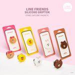 LINE FRIENDS 라인프렌즈 정품 실리콘 그립톡