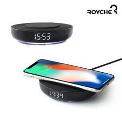 디지털 시계 & 고속 무선 충전기 WC-50
