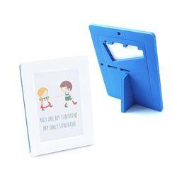 EVA 안전액자- 컬러풀 메모리즈 커비액자 (4x6)블루