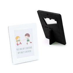 EVA 안전액자- 컬러풀 메모리즈 커비액자 (4x6)블랙