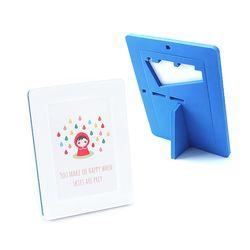 EVA 안전액자- 컬러풀 메모리즈 커비액자 (5x7)블루