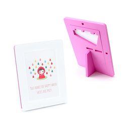 EVA 안전액자- 컬러풀 메모리즈 커비액자 (5x7)핑크