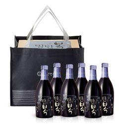 배상면주가 고창LB 빙탄복 선물세트 스파클링 와인 7도 370ml