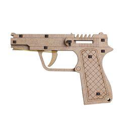 베레타 권총-5연발(CM-876)장난감 고무줄 총