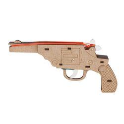리볼버 권총-4연발(CM-879)장난감 고무줄 총