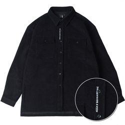 드롭핏 레터링 헤비 코듀로이 셔츠 M3 shirts(Black)