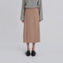 nomal front slit skirt (3colors)