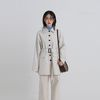 midi belt trench coat (2colors)