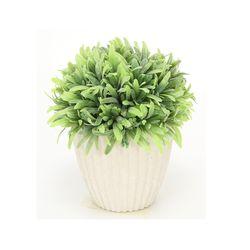화분조화-화이트잎