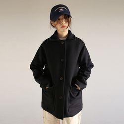 pocket basic single jacket (2colors)