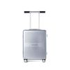 R TRUNK HARDSHELL 37L SILVER