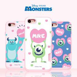 몬스터주식회사 핑크카드범퍼(3종)(아이폰6 7 8 7+ 8+)
