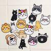 고양이 pvc 방수 코팅 스티커 - small