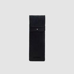 로터프 LO-9400F BK 고급필통 블랙 울펠트