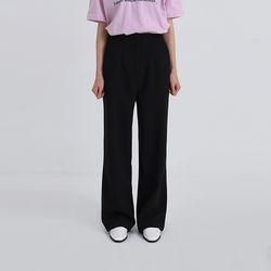 firm loose slacks (2colors)