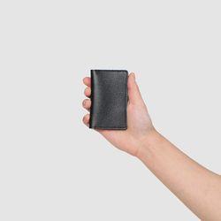 로터프 LO-9005 BK 카드지갑 블랙 가죽 여자