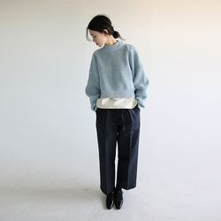 waist string wide pants (2colors)