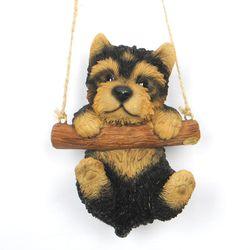 초롱초롱 요크셔테리어 강아지 장식