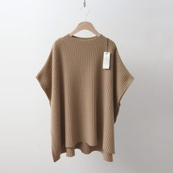 Hoega Cashmere Wool Golgi Poncho Sweater