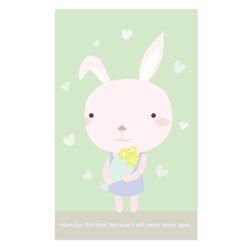 토끼 미니 카드