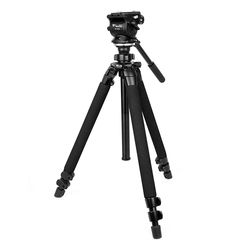 슬릭 PRO 400DX 삼각대 + 웨이펑 WF-500S 비디오 헤드 패키지