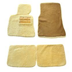 고급수입차용 천연양털 바닥매트 풀세트 맞춤제작